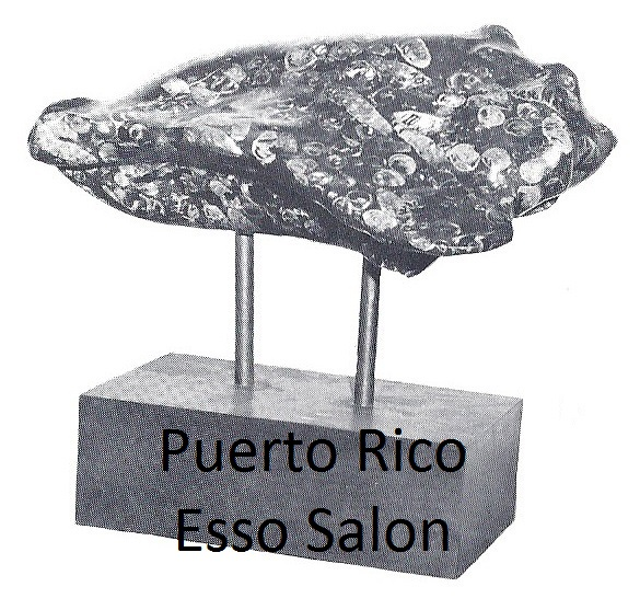 Puerto Rico Esso Salon Button