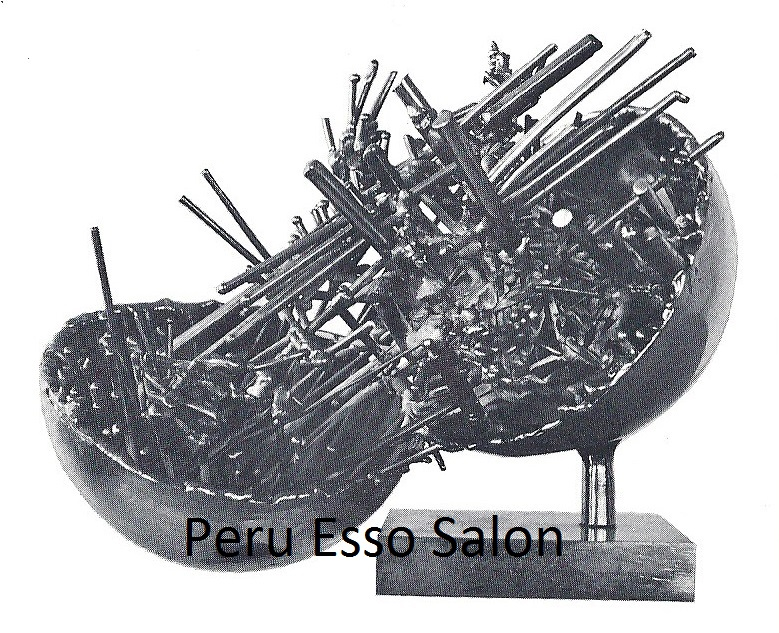 Peru Esso Salon Button